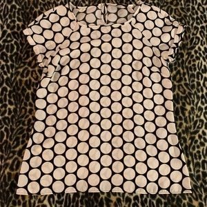 Worthington polka dot top